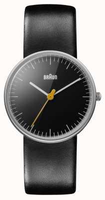 Braun Panie cały czarny zegarek BN0021BKBKL