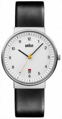 Braun Mężczyzna cały biały czarny zegarek BN0032WHBKG