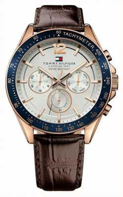 Tommy Hilfiger Gandyjski zegarek z różową nutą 1791118