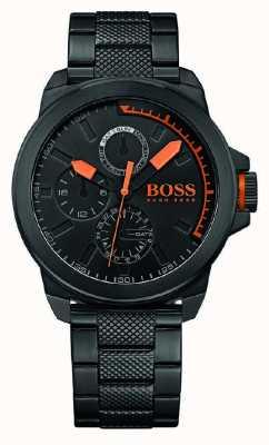 Hugo Boss Orange Mens czarny ip czarny pokrętło 1513157