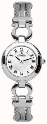 Michel Herbelin Damski zegarek ze stali linowej 17422/B29