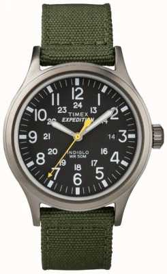 Timex Męski zegarek wyprawy indiglo T49961