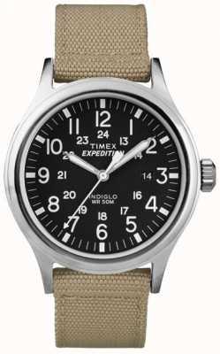 Timex Męski zegarek w czarnej wyprawie harcerskiej T49962