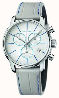 Calvin Klein Męski skórzany pasek chronografu w mieście K2G271Q4