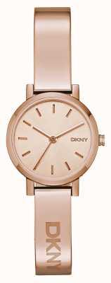 DKNY Damska bransoletka z różowego złota NY2308