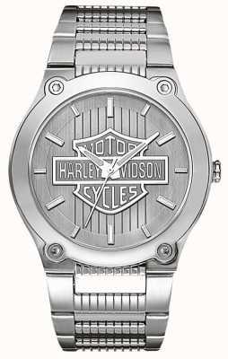 Harley Davidson Stal nierdzewna ze świetlistymi dłońmi 76A134