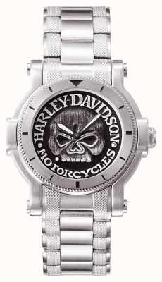"""Harley Davidson Zegarek męski w kształcie litery """"G"""" 76A11"""