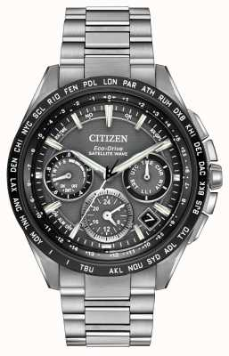 Citizen Męski chronometr z falą satelitarną f900 CC9015-71E