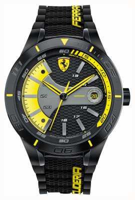 Scuderia Ferrari Red rev evo czarny silikonowy czarny żółty pokrętło 0830266