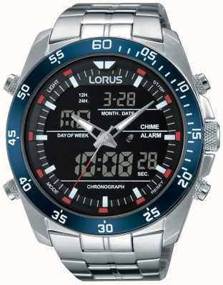 Lorus Męska podwójna stal nierdzewna RW623AX9