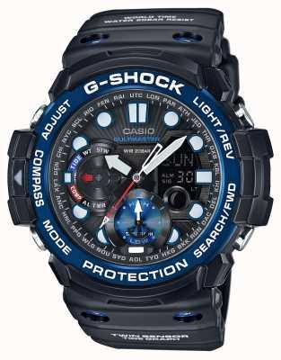 Casio Chronograf alarmu G-shock Gulfmaster GN-1000B-1AER