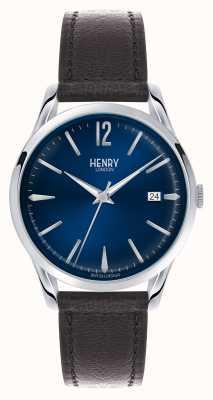 Henry London Knightsbridge niebieska tarcza - jak widać w telewizji HL39-S-0031