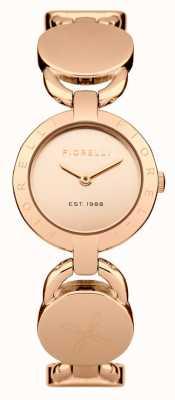 Fiorelli Różowa złota bransoletka damska z różowego złota FO001RGM