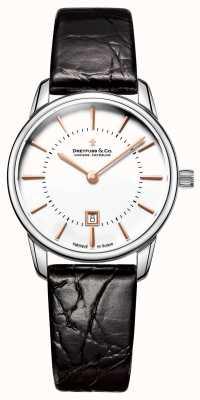 Dreyfuss Zegarek ze skóry z 1980 roku DLS00135/01