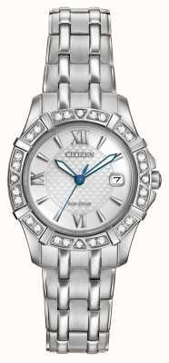 Citizen Eko-napęd 28 diamentów ze stali nierdzewnej EW2360-51A
