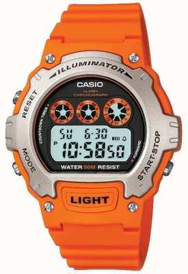 Casio Sportowy chronograf unisex z iluminatorem W-214H-4AVEF