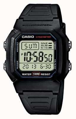 Casio Chronograf alarmu biegów sportowych W-800H-1AVES