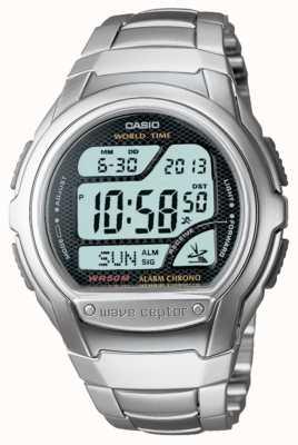 Casio Sterowany radiowo chronograf alarmowy Waveceptor WV-58DU-1AVES