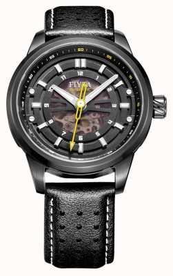FIYTA Klasyczny automatyczny zegarek szkieletowy WGA8452.BBB