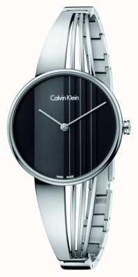 Calvin Klein Zegarek Drift z czarną tarczą K6S2N111