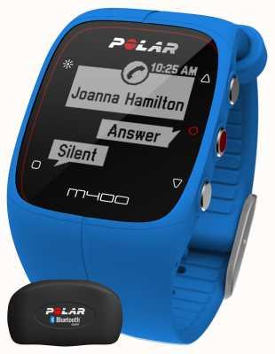 Polar Unisex tracker aktywności Bluetooth m400 (niebieski z hr) 90057189