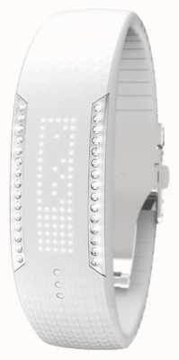 Polar Unisex loop 2 swarovski crystal white tracker aktywności 90057756