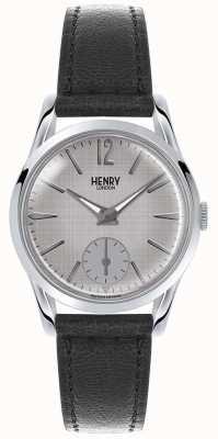 Henry London Szary skórzany pasek Womans szary HL30-US-0073
