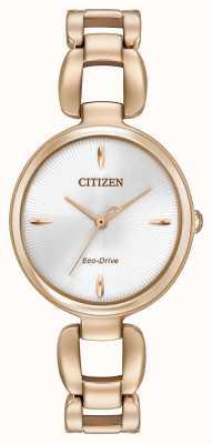 Citizen Damska bransoletka z pozłacanego złota EM0423-56A