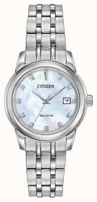 Citizen Bransoletka 11 kobiet ze stali szlachetnej z masy perłowej EW2390-50D