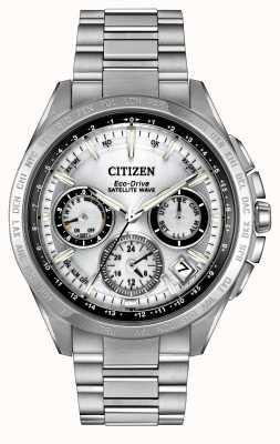 Citizen Męska eko-napędowa srebrna fala satelitarna f900 CC9010-74A