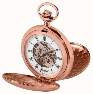 Woodford Zegarek kieszonkowy z różowego złota z różowego myśliwego 1090