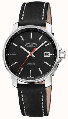 Muhle Glashutte Automatyczny zegarek 29er | czarny skórzany pasek M1-25-23-LB