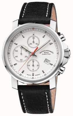 Muhle Glashutte Zegarek z białą tarczą chronografu 29er M1-25-41-LB