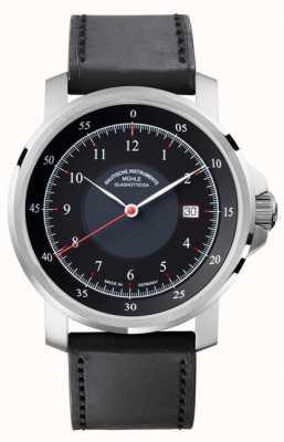 Muhle Glashutte Klasyczny automatyczny zegarek M29 M1-25-53-LB
