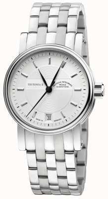 Muhle Glashutte Średni automatyczny zegarek Teutonia ii M1-30-25-MB