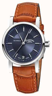 Muhle Glashutte Średni automatyczny zegarek Teutonia ii M1-30-22-LB