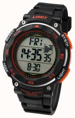Limit Męski zegarek sportowy z czarnym paskiem 5485.01