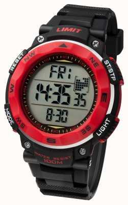 Limit Męski zegarek sportowy z czarnym paskiem 5486.01