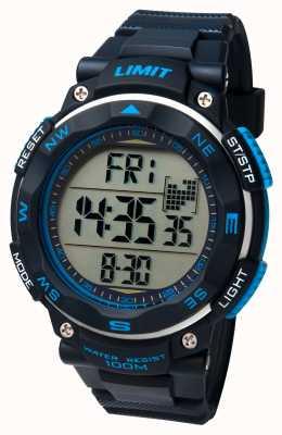 Limit Męski zegarek sportowy z czarnym paskiem 5487.01