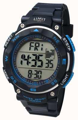 Limit Męski zegarek sportowy z czarnym paskiem 5487.66