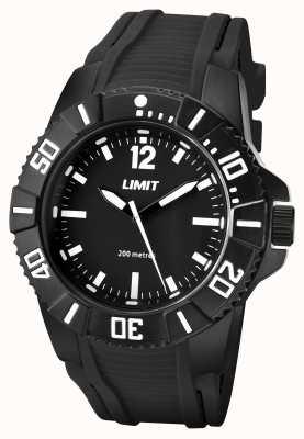 Limit Mężczyzna aktywny czarny pasek czarna tarcza 5545.02