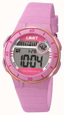 Limit Womans różowy pasek wybierania cyfrowego 5557.24