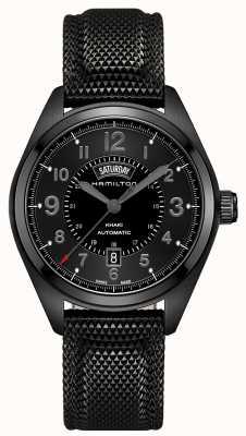 Hamilton Męskie pole khaki daydate automatic black material black dial H70695735