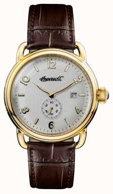 Ingersoll Mens 1892 the england white leather white dial I00803