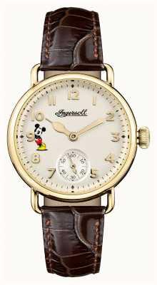 Disney By Ingersoll Damska unii trenton disney edycja limitowana brązowy ID00102