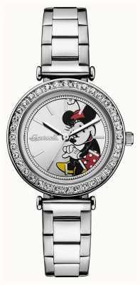 Disney By Ingersoll Damska bransoleta ze srebrną tarczą ze stali nierdzewnej disney ID00305