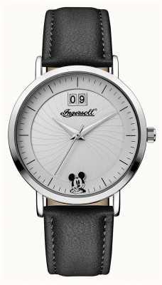 Disney By Ingersoll Damski łącznik ze skórzanym paskiem w stylu disney ID00501