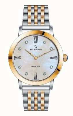Eterna Zegarek dwukolorowy damski zegarek eternity 2720.53.69.1739