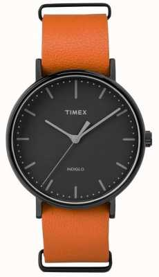 Timex Unisex weekend fairfield czarna tarcza TW2P91400