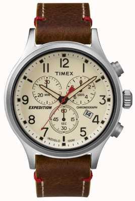 Timex Męski tarczowy chronograf z chronografem TW4B04300